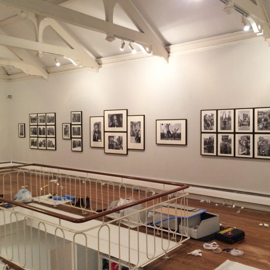 Hanging Revolution, the exhibition by John 'Hoppy' Hopkins at the Cardiff International Festival of Photography 2017