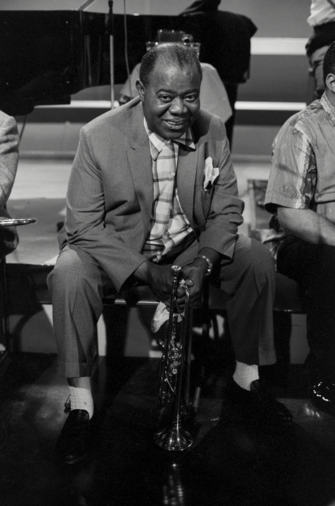 Louis Armstrong Smiles