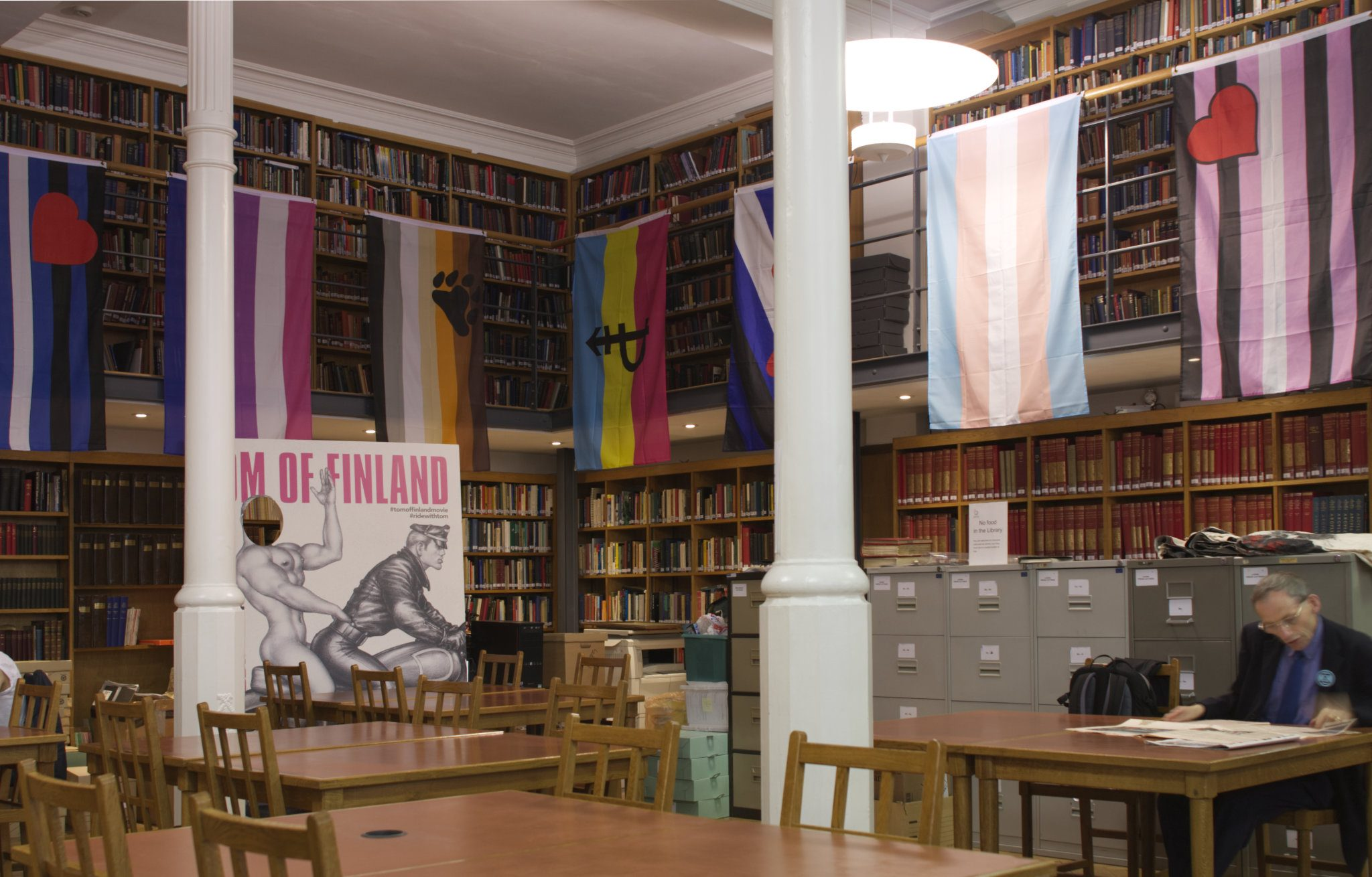 The Bishopsgate Library hosts Tom of Finland