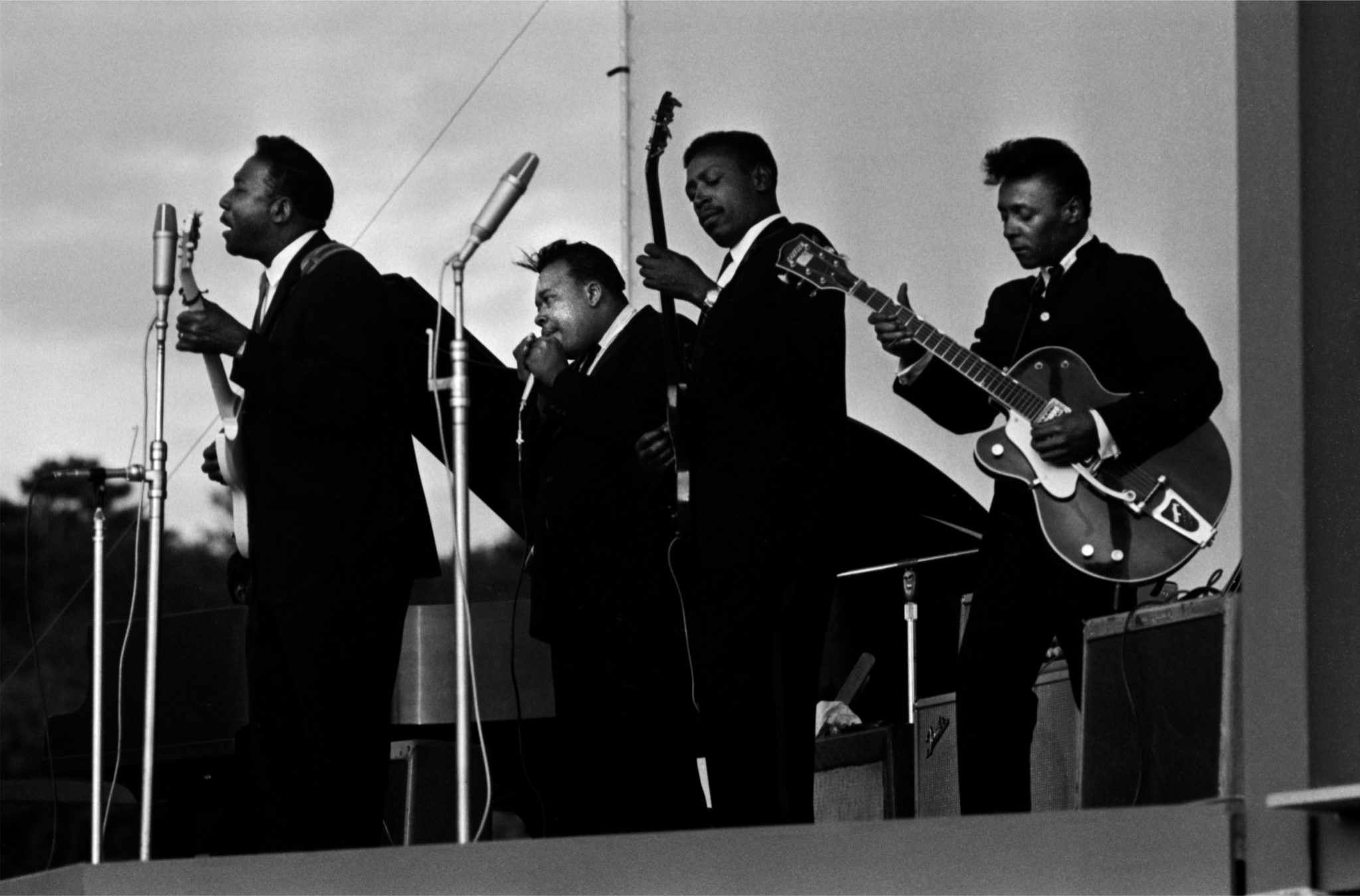 Muddy Waters, James Cotton, Louis Myers, Peewee Madison