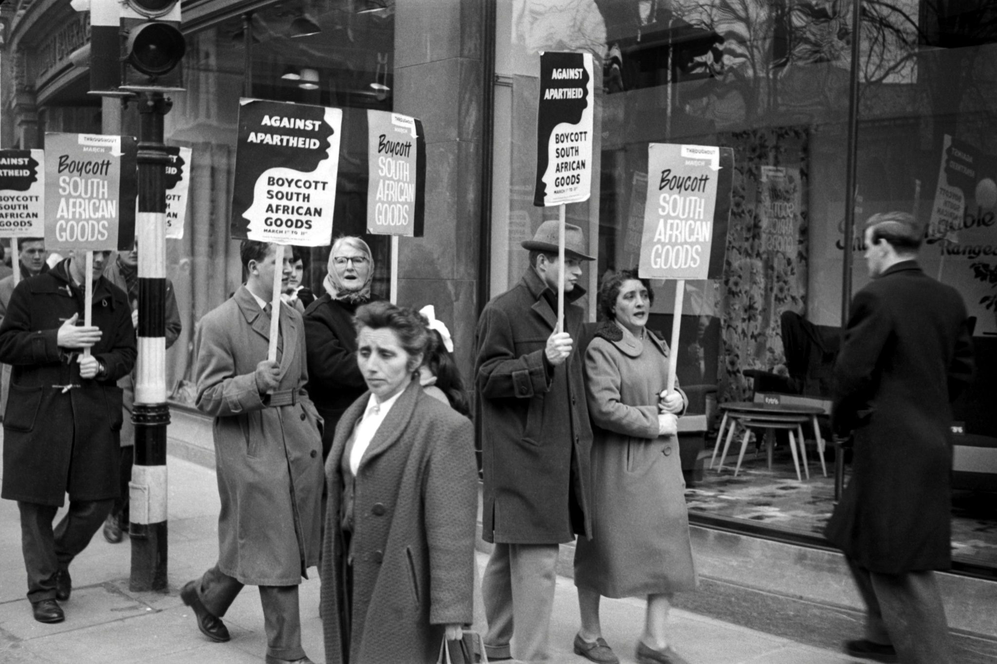Boycott Banners