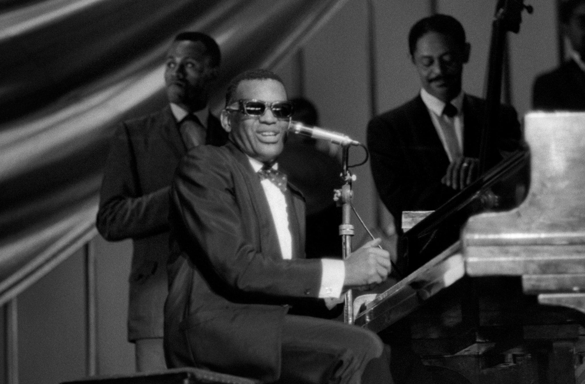 Ray Charles sings