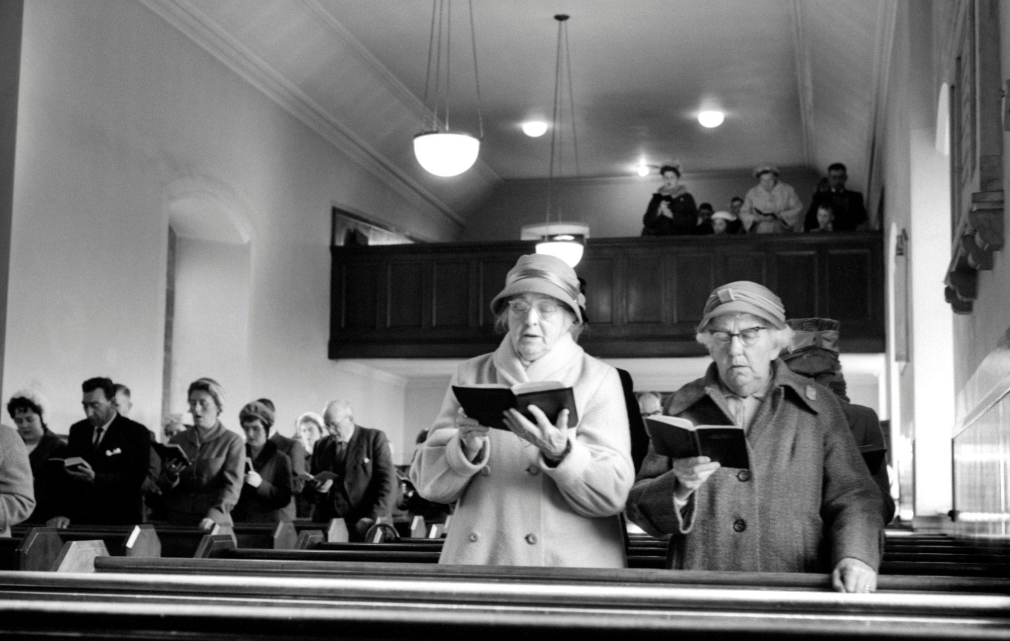 Church hymns