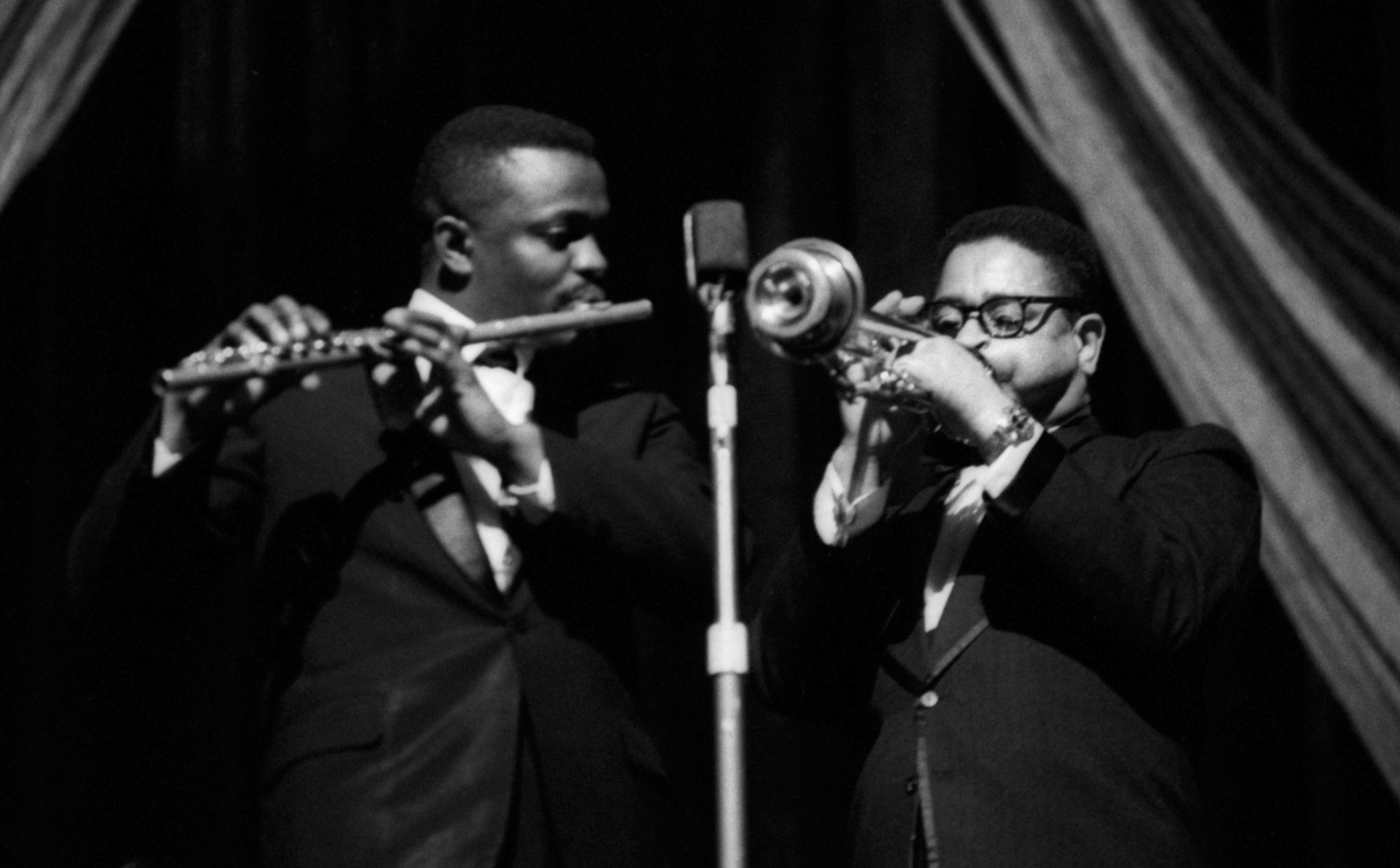 Eric Dolphy and Dizzy Gillespie