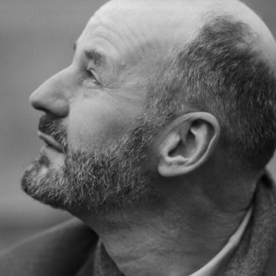 A close-up of American alternative bookseller Lawrence Ferlinghetti during a press conference at the Albert Memorial for The International Poetry Incarnation, photographed the day before the event at the Royal Albert Hall, London, on June 10 1965