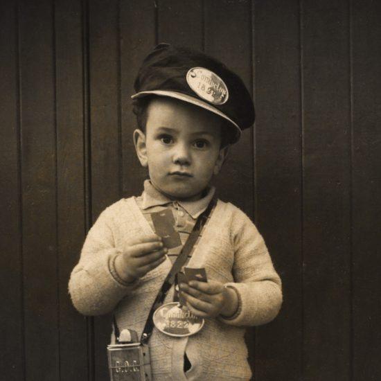 John Hoppy Hopkins aged 2, England 1939