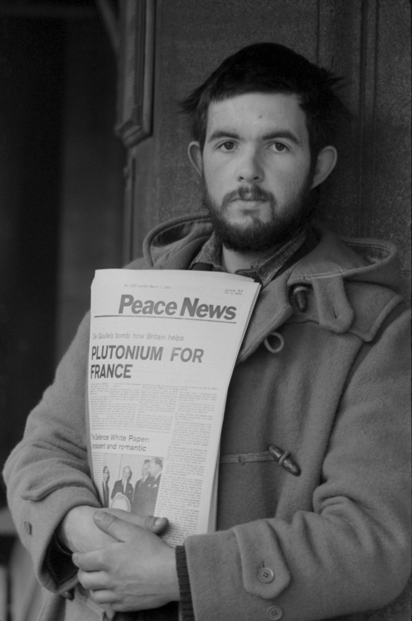 Peace News Vendor