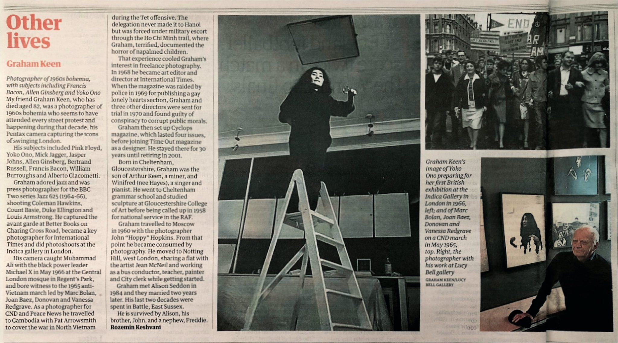 Graham Keen obituary in The Guardian