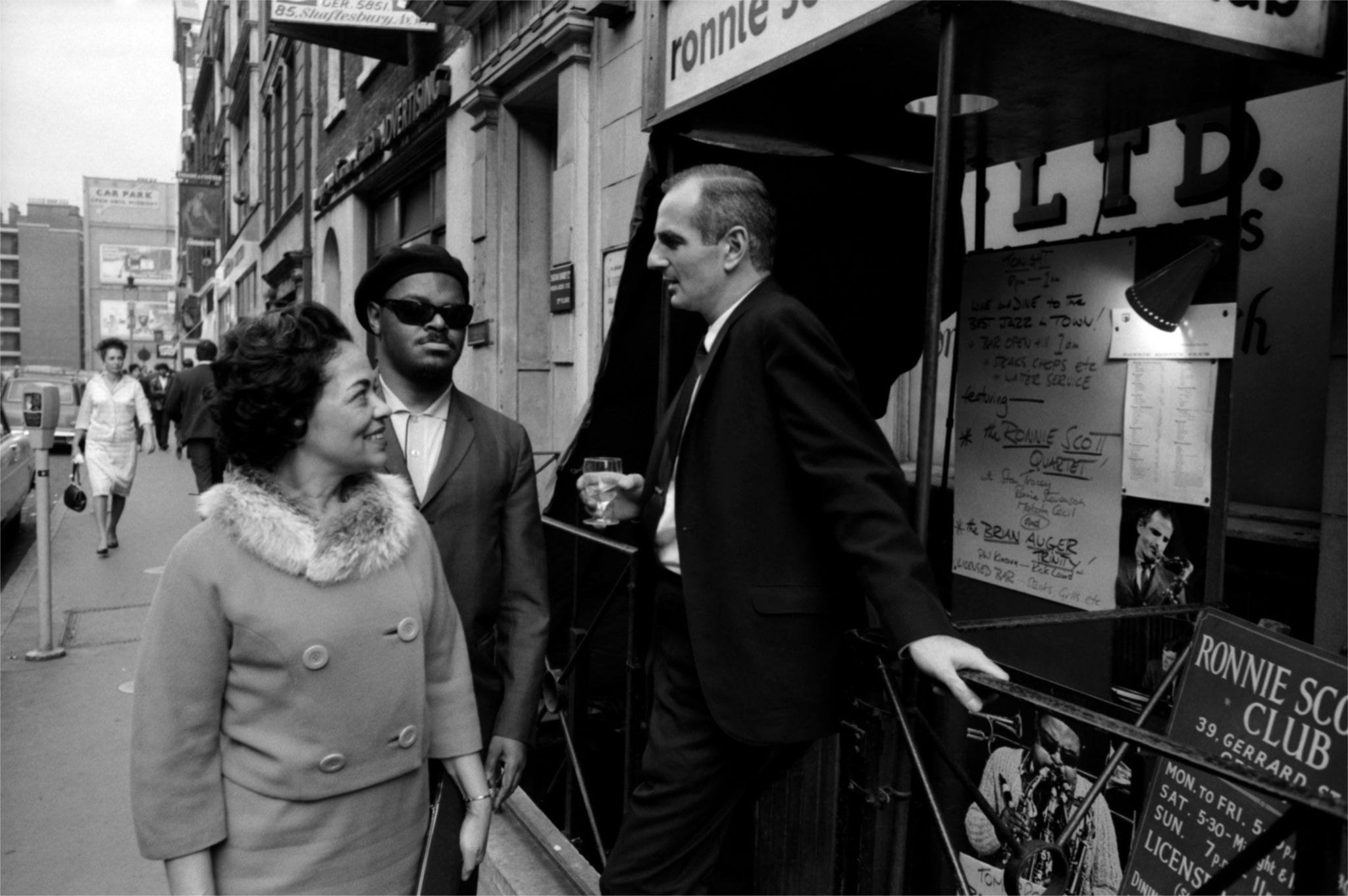 Edith Kirk, Rahsaan Roland Kirk, Ronnie Scott