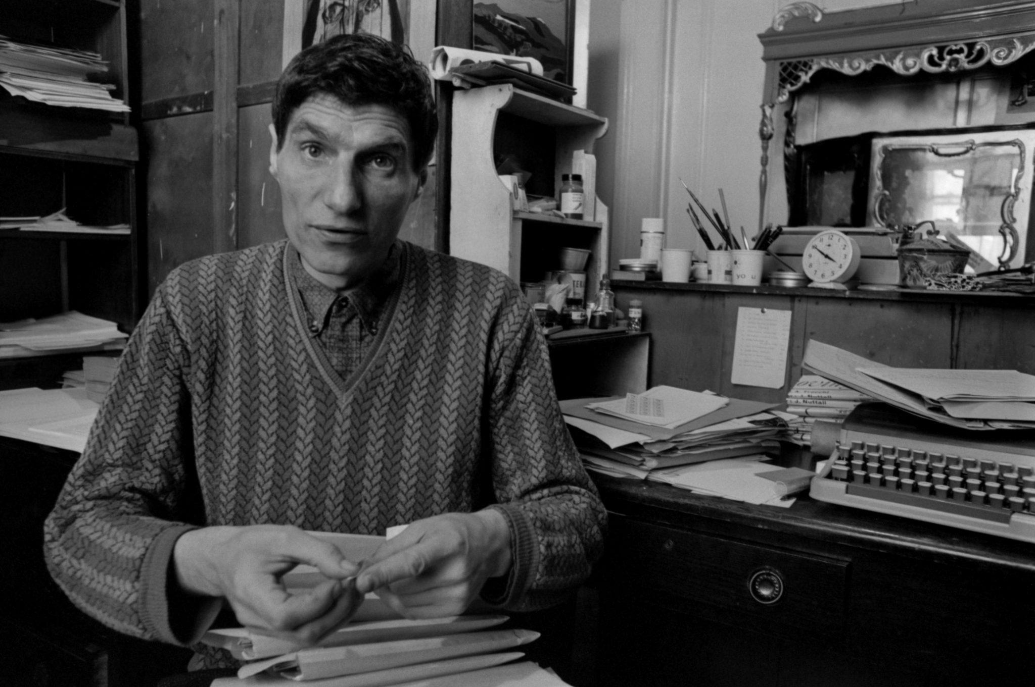 Alexander Trocchi and Typewriter