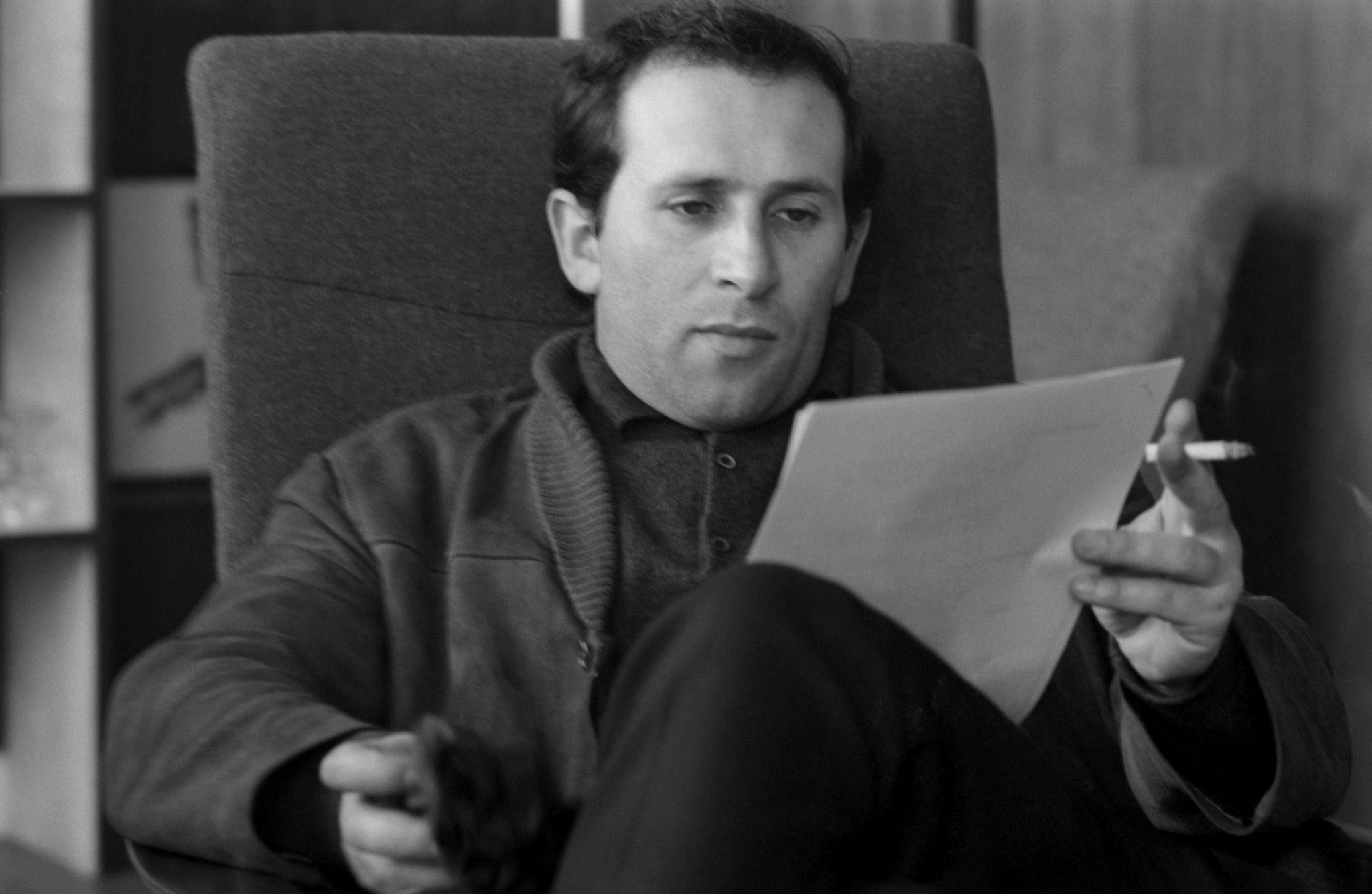 Arnold Wesker and script