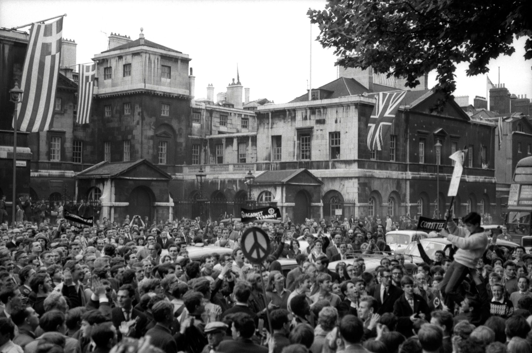 Committee of 100 march 'Against Tyranny'