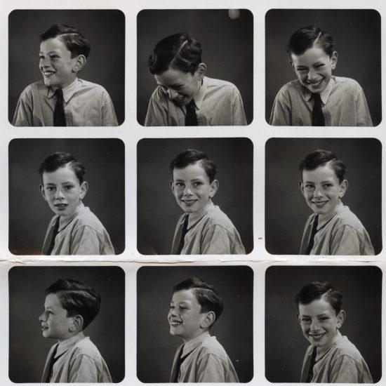 John Hoppy Hopkins as a child, circa 1940s